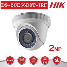 Hikvision DS-2CE56D0T-IRF CVBS/AHD/CTV/TVI 4 in 1 HD Camera 1080P 2MP With IR Indoor/outdoor Security Video Surveillance