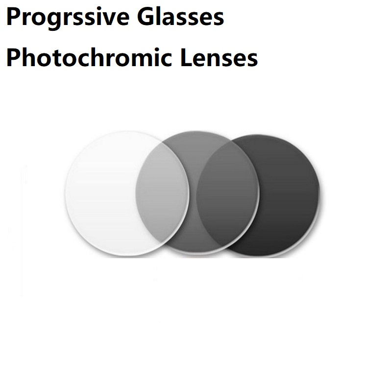1.56/1.61/1.67/1.74 lunettes de lecture progressives photochromiques lunettes de soleil verres de prescription gris lentilles asphériques personnalisées