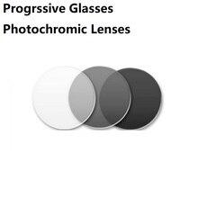 1.56/1.61/1.67/1.74 photochromic progressive reading glasses sunglasses prescription Glasses gray Aspherical lenses Customized