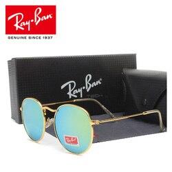 RayBan RB3447 Sun Glasses Polarized For Men Women Driving Sunglasses Retro Females Male Sun Glasses RayBan Round Eyewear
