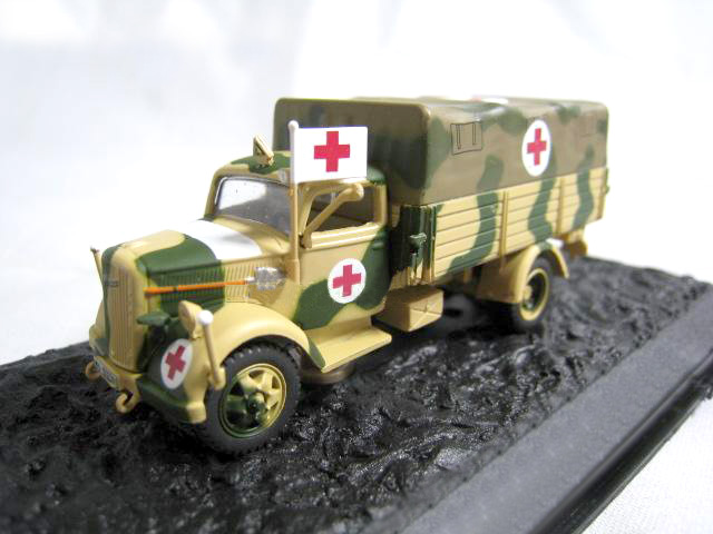 rare Special Offer 1 72 German Army 1943 3 6 36s kfz 305 field ambulance model