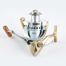 1000 2000 3000 4000 Spinning Fishing Reel 11+1BB Spinning Reel Carp Saltwater Fishing Reels Wheel Wooden Handle Spool Reels Coil 14 1bb double spool fishing reels metal spinning carp trout bass reel spare line cup left right hand freshwater saltwater wheel