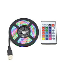 Rgb Led Verlichting 2835 Smd 60LED/M Kast Keuken Led Tape 1-5 M Waterdichte Strip Closet Tv decoratie Lamp 5V Usb Kabel Opladen(China)