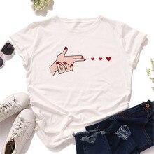 Plus Size S-5XL Love Launch Print Women T-Shirt 100%Cotton Women Shirts O Neck Short Sleeve Tees Sum