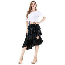 Sexy Celebrity Crop Top Two Piece Outfits Set Women White Shirt Bodycon Crop Top Skirt Mid Dress(China)