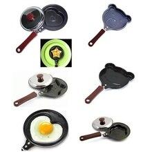 Mini egg fry breakfast love pan pancake