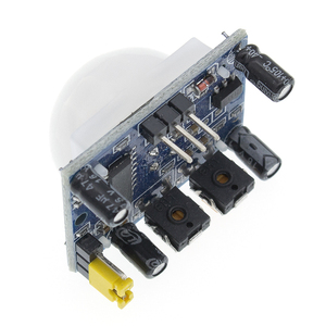 Image 4 - 무료 배송 100PCS HC SR501 적외선 IR Pyroelectric 적외선 PIR 모듈 모션 센서 감지기 모듈을 조정