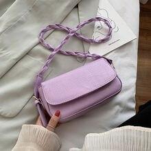 Высококачественная простая элегантная женская мини сумка через