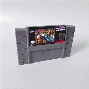 Image 1 - السلاحف IV السلاحف في وقت العمل بطاقة الألعاب النسخة الأمريكية اللغة الإنجليزية