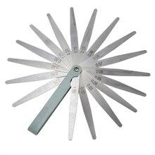 BMBY-Новинка 0,02 до 1 мм 17 толщина лезвия зазор метрический наполнитель щупа прибор измерение инструмент