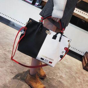 Image 5 - Mode Frauen Leder Schulter Tasche Tote Geldbörse Crossbody Messenger Handtasche Top Griff Taschen