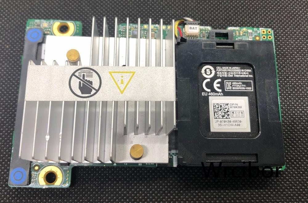 Dell 0TY8F9 N3V6G PERC H710P Mini Mono 6Gb/s SAS RAID W/1GB Cache For R520, R620, R720