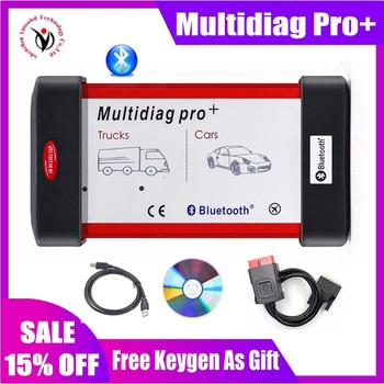 цена на New Arrivals Multidiag Pro + 2016 keygen NEC Relays Bluetooth vd ds150e cdp Obd2 Scanner for delphis Car&Truck Diagnostic Tool