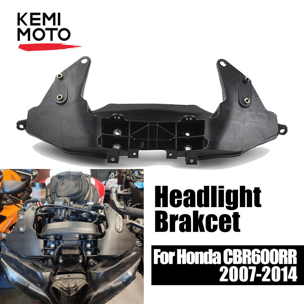 Front Upper Fairing Stay Bracket Holder Cowling Headlight For Honda CBR 600RR CBR600RR 2007 2008 2009 2010 2011 2012 2013 2014