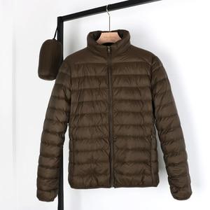 Image 1 - NewBang Matt Fabric Man Down Jackets Ultra Light Down Jacket Men Feather Lightweight Parka  Windproof Warm Coats