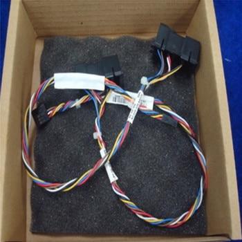 Línea de conmutación de botón de encendido profesional 0F7M7N Cable de interruptor para DELL XPS 8100 8200 X8300 8700 Accesorios de reparación