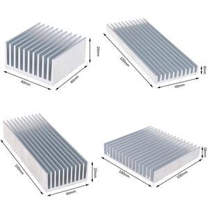 Aluminum Alloy Heatsink Cooling Pad For High Power LED IC Chip Cooler Radiator Heat Sink 4 sizes