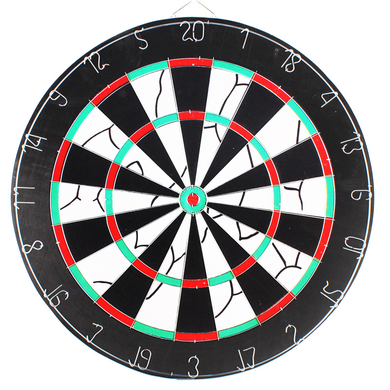 Darts Board Set 12/15/17 Inch Family/Office Game Dartboard Head For Safety Dartboard Sports Exercise Darts Recreational Sports