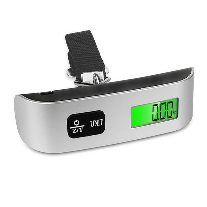 JULY 39 S SONG 110lb 50kg Portable Luggage Scale Digital Electronic Suitcase Scale Handled Travel Bag Weighting Scale LCD Display in Travel Accessories from Luggage amp Bags