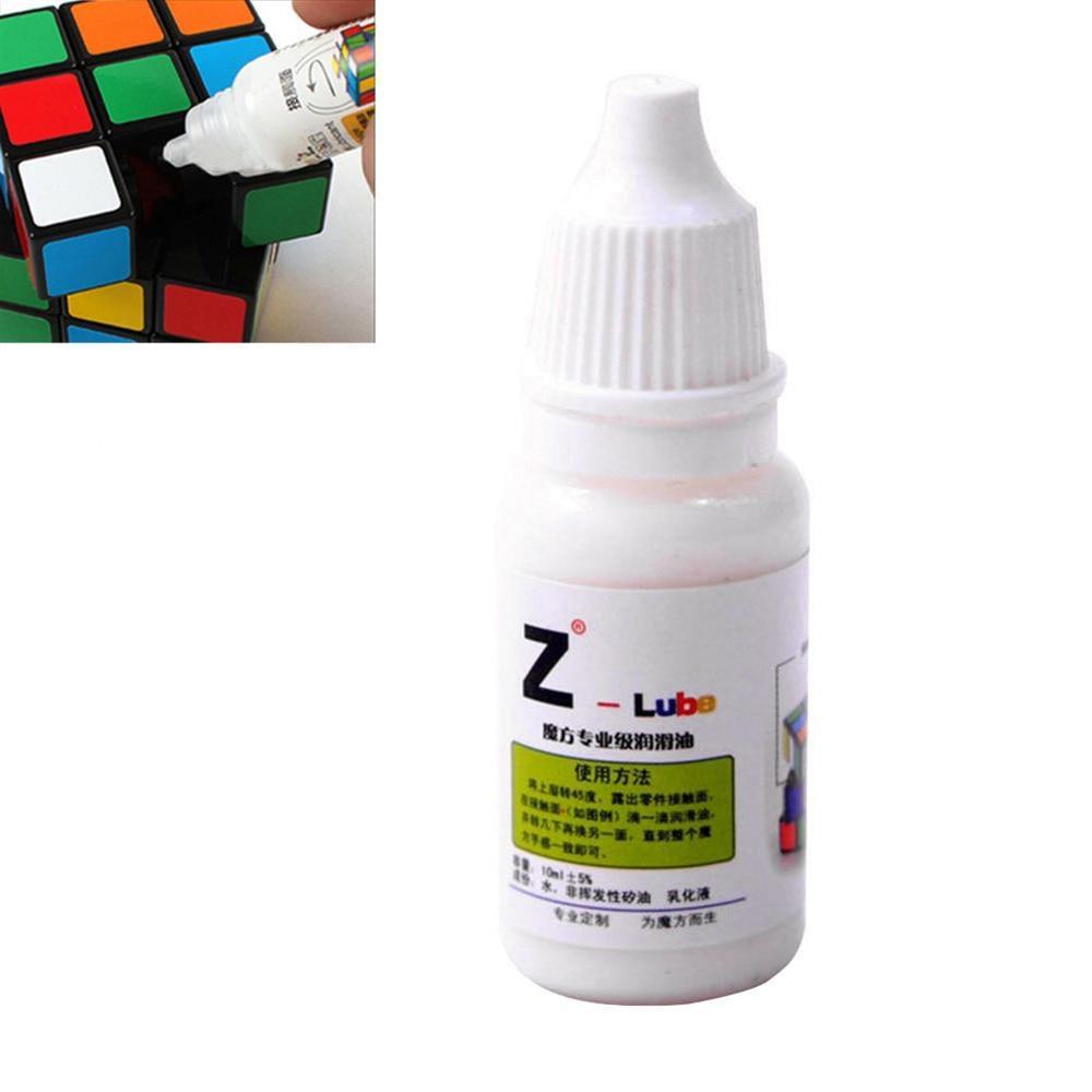 1 Pcs Z-lube Lube Cube Lubricating Oil 10ML Cubo Magic Maru Cube Oil Best Silicone Lubricants Best Silicone Lubricants Toys