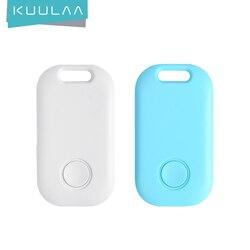 KUULAA Mini Smart Tracker Anti Lost Bluetooth Smart Finder For Kids Key Phones Kids Anti Loss Alarm Smart Tag Key Finder Locator