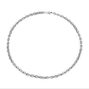 Image 1 - 59 Cm Gratis Verzending Groothandel 100% Echte Pure 925 Sterling Zilveren Ketting 9 Mm Dikke Ketting Mannen Gift Thai Zilver lange Ketting
