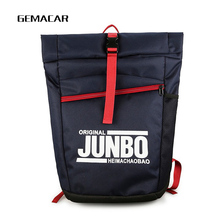 Student Backpack Large Capacity Fashion Youth Oxford Cloth Bagpack Men And Women Personality Hip Hop Bag Letters High Quality