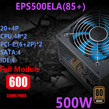 PC PSU Power-Supply Golden-Field 600W 500W Broad-Silence EPS500ELA Full-Module New