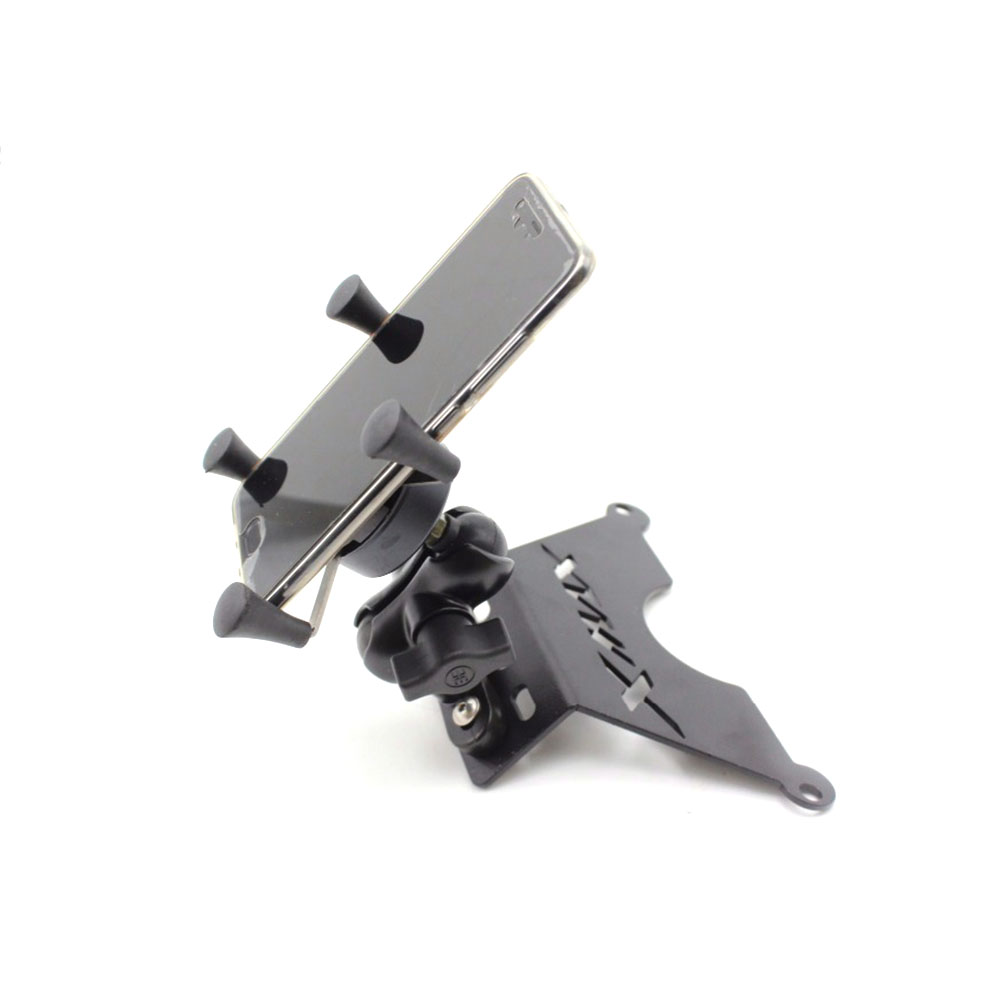 For Yamaha XMAX250 <font><b>XMAX</b></font> 250 XMAX300 <font><b>XMAX</b></font> <font><b>300</b></font> 2017 2018 Motorbike Mount Mobile <font><b>Phone</b></font> <font><b>Holder</b></font> Bracket Stand image