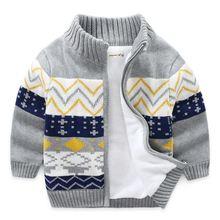 Детский свитер зимние и весенние вязаные свитеры для мальчиков