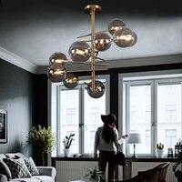 북유럽 럭셔리 유리 led 펜 던 트 조명 램프 led 펜 던 트 조명 거실 식당 침실 부엌 로프트 장식 매달려 램프|인테리어 라이트|   -