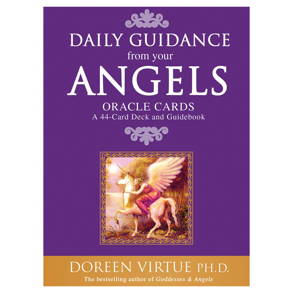 44pcs Tarot Cards Daily Guidance Angel Oracle Card Deck Table Game For Playing Cards Board Games Entertainment