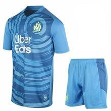 Novo 2020 2021 marselha camisa kit adulto + crianças benedetto payet l gustavo thauvin 2020- 21 marselha criança camisa