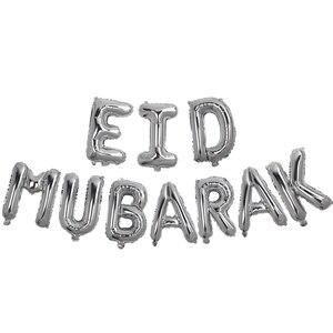 Image 5 - 16 cal różowe złoto Eid Mubarak z balonów foliowych artykuły do dekoracji na imprezę dekoracja na Ramadan złoty EID balony na muzułmańskie EID balon