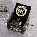 Новый Гарри Поттер музыкальная шкатулка детские рождественские украшения в подарок семья украшения Подарочная Музыкальная Коробка с ручн...