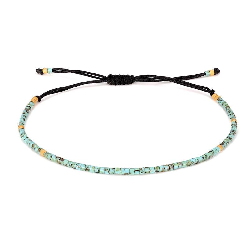 Handgemachte Neue Freundschaft Armbänder Dünne Seil Armbänder Für Frauen Mode Charme Armbänder