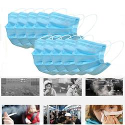 10/20/30/50pcs 3 Ply Face Mask Disposable Protective Safety Masks Anti-Dust Mask Anti Pollution Non-Woven Mouth Mask N95 Mask 6