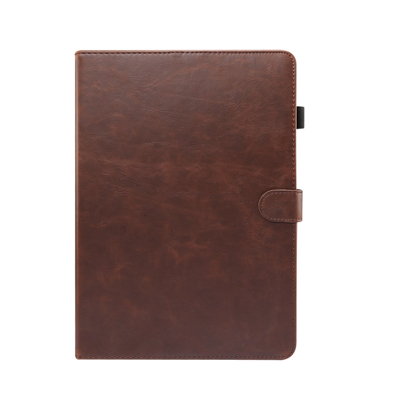 Dark Brown Blue Case For iPad 10 2 inch 2020 Cover Smart flip leather Stand Card slot wallet Tablet