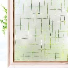 Frosted Privacy Window Film Vinyl Glas Zelfklevende Folie Matte Statische Cling Stained Uv Bescherming Raamstickers Voor Thuis