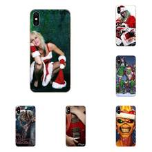 Sexy Heavy Metal Christmas Cell Phone Case For Samsung Galaxy A51 A01 A81 S9 S8 Plus S20 S10 Plus A50 A70 A40 A71(China)