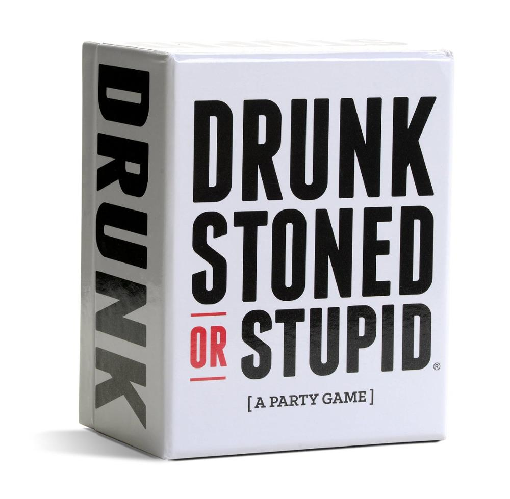 Adult Party Cards Board Game Drunk Fool Drunk Or Stupid  The Complete Set Funny Game Educational Toy