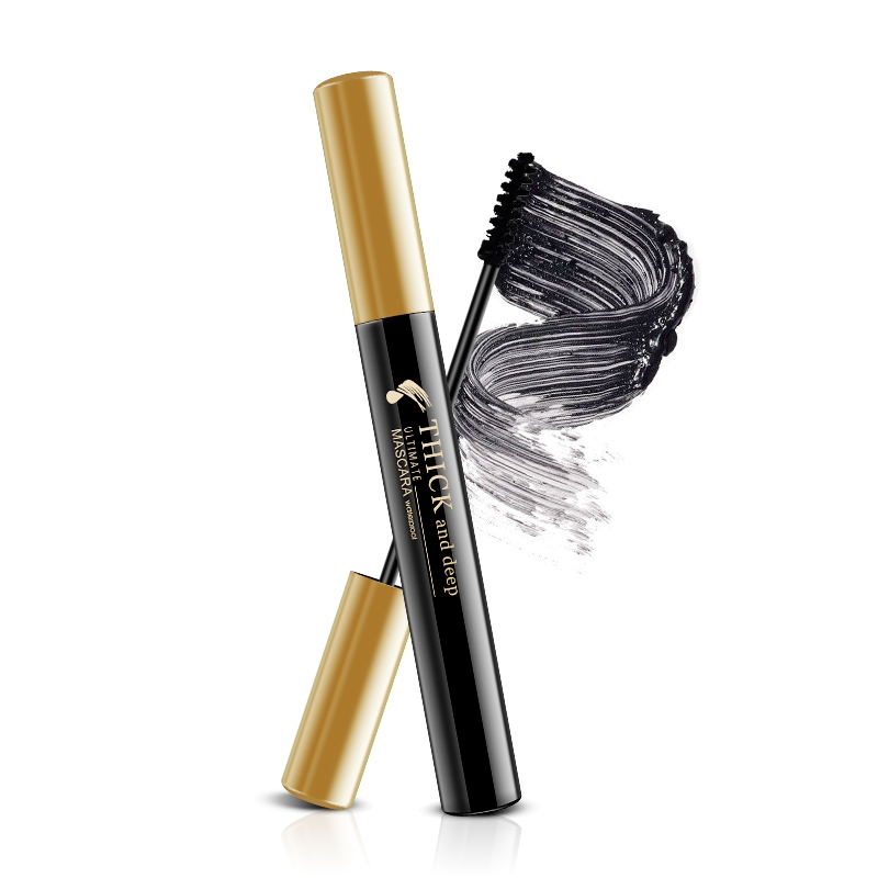 1pc Thick Mascara Waterproof Smudge proof Lasting Slender Curling Eye Lashes Serum Mascara Charm Makeup Cosmetics in Mascara from Beauty Health