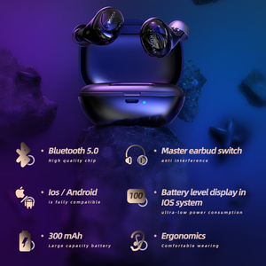 Image 5 - KUULAA TWS Bluetooth Earphone Wireless Headphones Bluetooth 5.0 Handsfree Gaming Headset Blutooth Earphone In Ear Sports Earbuds