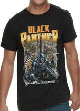 Camiseta Negra para Adulto, Camiseta Con Licencia, talla S-2Xl