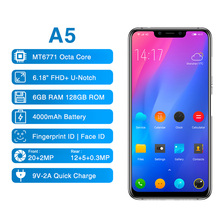 In Stock Elephone A5 6.18