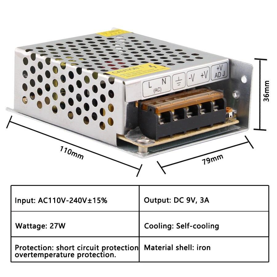 AC DC 3V 9V 15V18V Switching Power Supply 2A 3A 5A 10A 15A 20A 30A 40A 3V 9V 15V 18V Source Power Supply SMPS-1