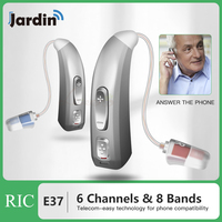 JE37 Rechargeable Hearing Aid for The Elderly / Hearing Loss Sound Amplifier Ear Care Tools Adjustable Hearing Aids Dropshipping