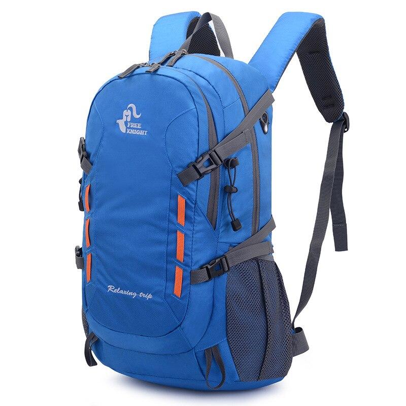 40L Mochila deportiva para el aire libre Camping senderismo mochila impermeable escalada viaje bolsas de ciclismo