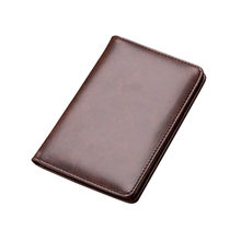 8 Ultra Thin Mini Wallet Men's Small Wallet Business PU Leather Magic Wallets High Quality Coin Purse Credit Card Holder Wallets(China)