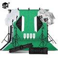 2 м х 3 м Система поддержки фона зонт для софтбокса комплект для фотостудии продукт, портретная и видеосъемка фотографии огни